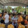 งานประเพณีสงกรานต์ของชุมชนหนองแตงเม ปี 2562