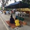 กิจกรรมประเพณีทำบุญข้าวหลาม ชุมชนหนองแตงเมปี 2563